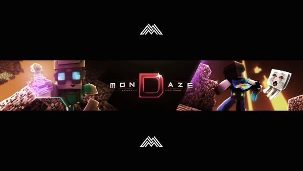 Mondaze Banner PSD File
