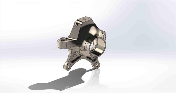 2020 X3 RS RR Rear Drivers Side Knuckle
