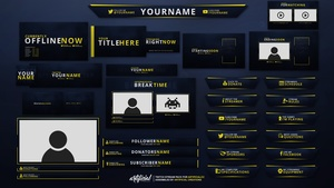 6K Complete Rebrand Pack | Complete Twitch Pack