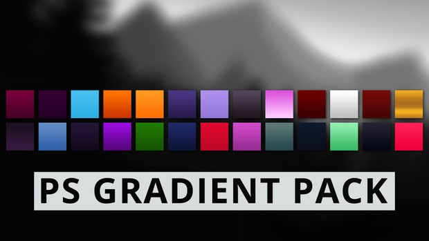 Gradient Pack #1 | Photoshop Resources