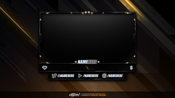 Rainbow Six Siege | Livestream Facecam Template