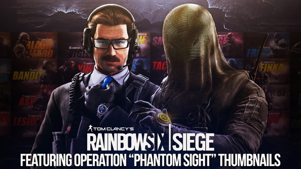 Rainbow Six: Siege | Thumbnail Template