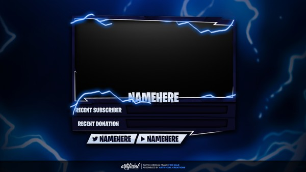 Fortnite | Livestream Webcam Template
