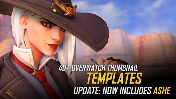 Overwatch | Thumbnail Template