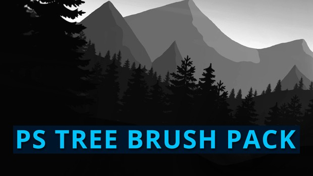 Tree Brushes Pack #1   Photoshop Resources