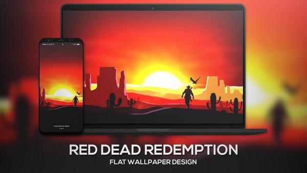 """Red Dead Redemption 2"" | Wallpaper"