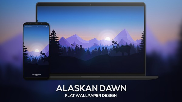 """Alaskan Dawn"" 