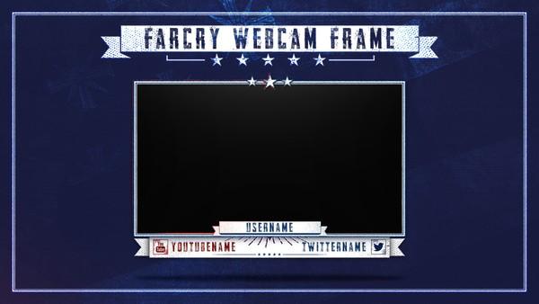 Farcry 5 | Livestream Facecam Template