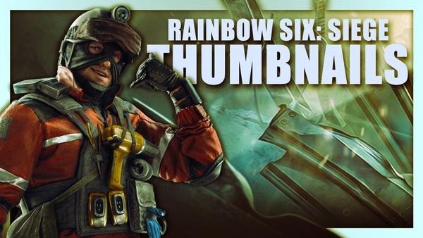 Rainbow Six: Siege Operators | Thumbnail Template