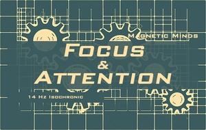 Focus and Attention - Brain Cognition Improvement - 14 Hz - Isochronic Tones - Focus Music