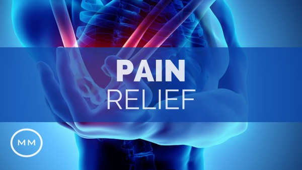 Pain Relief (v.3) - Relieve Body Pain, Migraines, Arthritis - Meditation Music - Binaural Beats