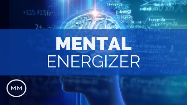 Mental Energizer - Increase Brain Power, Focus, Concentration - Gamma Waves - Monaural Beats