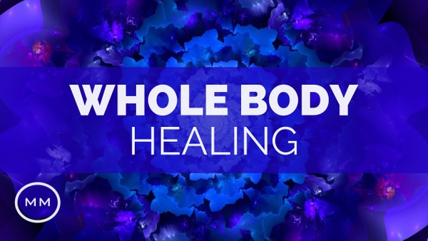 Whole Body Healing - 528 Hz + 3.4 Hz - Full Body Regeneration - Binaural Beats - Healing Music