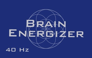 Brain Energizer - Mental Energy Booster - Gamma Binaural Beats (40Hz)