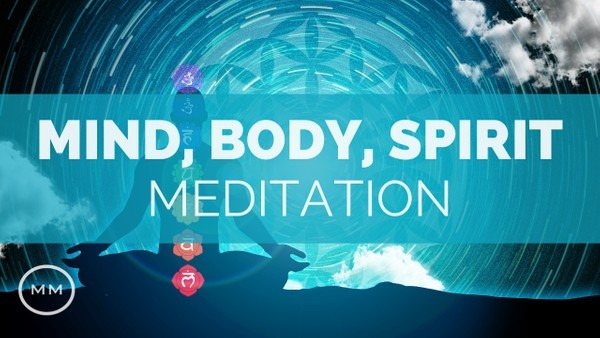Mind, Body Spirit - Music for Physical, Mental & Emotional Healing - Binaural Beats Meditation