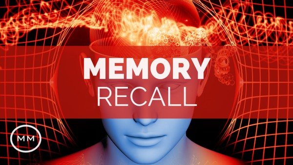 Memory Recall - Remember People, Places, Events - Binaural Beats - Meditation Music
