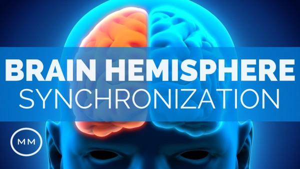 Brain Hemisphere Synchronization (v.3) - Activate The Entire Brain - Binaural Beats Meditation