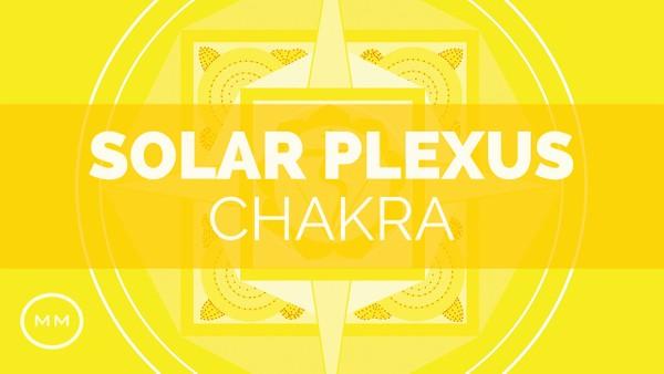 Solar Plexus Chakra -  364 Hz - Chakra Healing / Balancing - Binaural Beats - Meditation Music