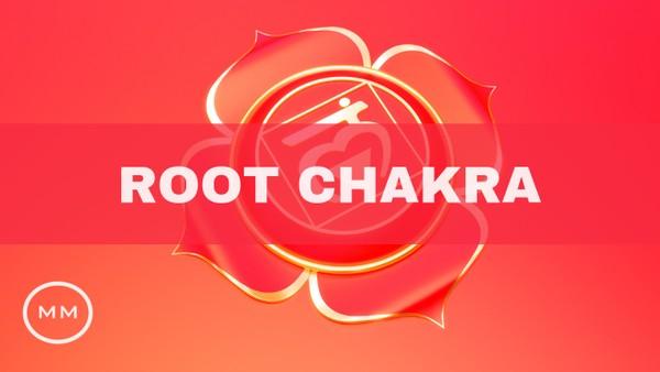 Root Chakra Meditation Music - 228 Hz - Balance and Heal the Root Chakra - Monaural Beats