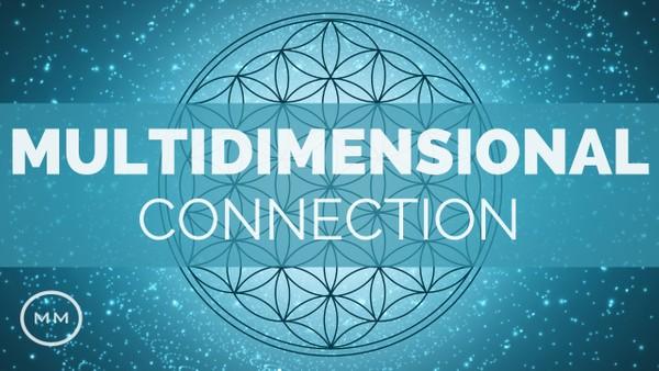 Multidimensional Connection Meditation - 441 Cube Matrix - Binaural Beats - Meditation Music