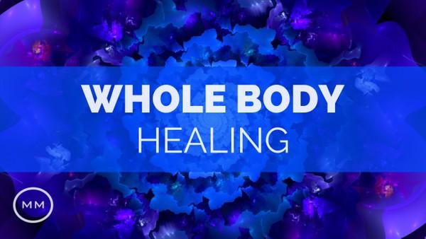 Whole Body Healing - Full Body Regeneration - 528 Hz - Delta Waves - Binaural Beats - Healing Music