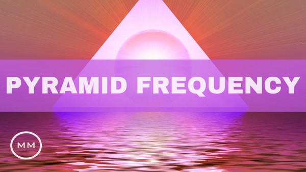 Pyramid Frequency - 33 Hz / 9 Hz - King's Chamber Frequencies - Meditation Music - Monaural Beats