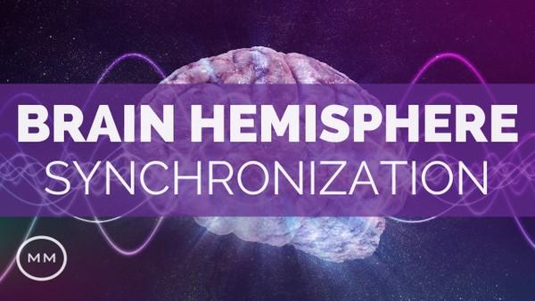 Brain Hemisphere Sync (v.2) - Activate the Entire Brain - Binaural Beats - Meditation Music