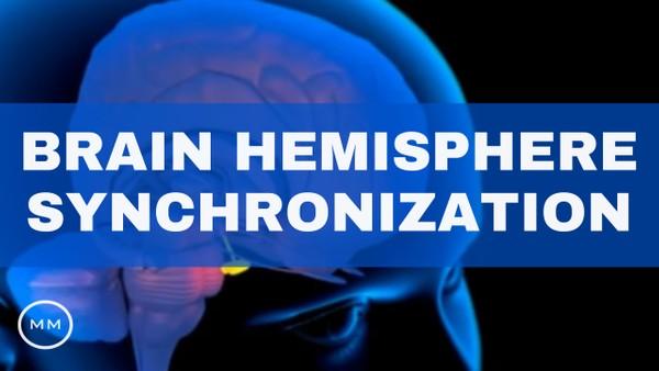 Brain Hemisphere Synchronization - 9 Hz - Activate the Entire Brain - Binaural Beats Meditation
