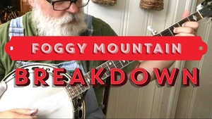 Tab for Foggy Mountain Breakdown