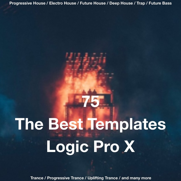 75 The Best Templates For Logic Pro X