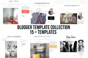 blogger blogspot template theme bundle sale