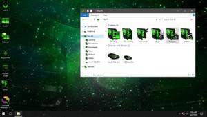 Alienware 3D Green IconPack