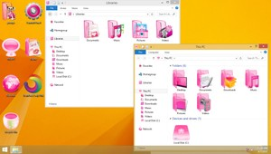 Lady Pink IconPack