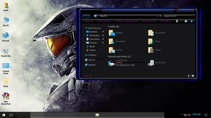 Halo ThemePack for Win 7/10RS2