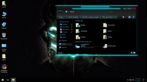 DeadSpace ThemePack for Win 7/10RS2