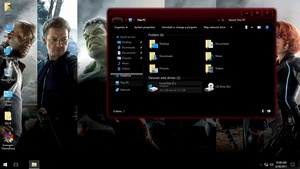 Avengers ThemePack for Win 7/10RS2