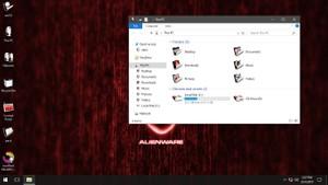 AlienMorph Red IconPack