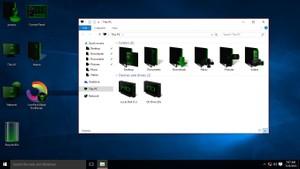 Blade DarkGreen IconPack
