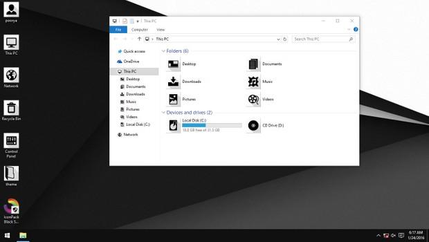 Black Shadow IconPack