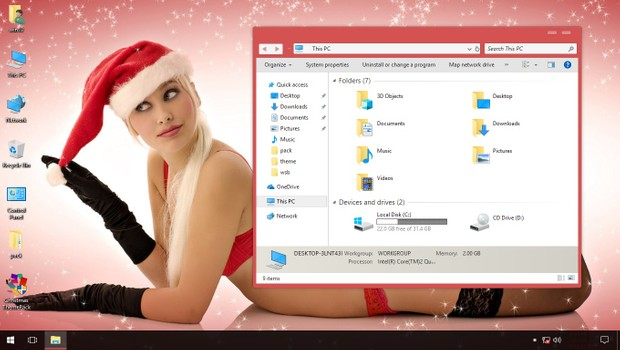 Christmas ThemePack for Win 7/8.1/10RS3