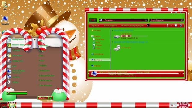 Christmas Magic ThemePack for Win 7