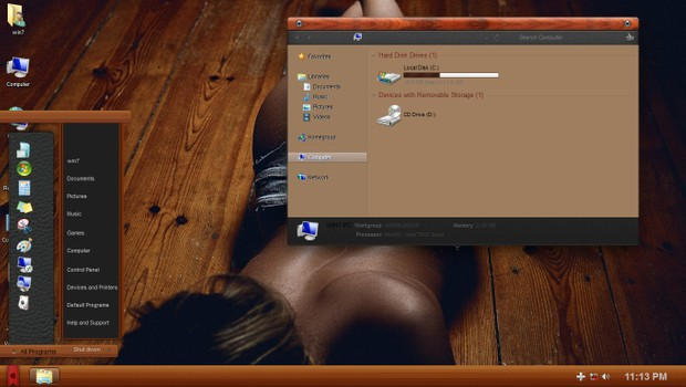 Wood OSX ThemePack for Win 7/8.1/10RS3