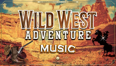 Wild West Country Music - Western Gunslinger Cowboy Ranch Farm, AAA Royalty-Free Music Audio Library