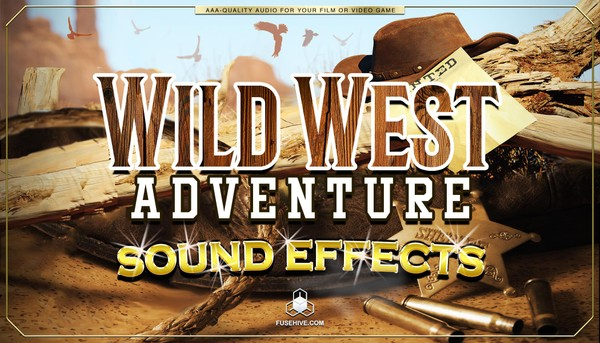 Wild West Country Sound Effects Library - Western Cowboy Ranch Farm Royalty Free AAA SFX Audio Pack