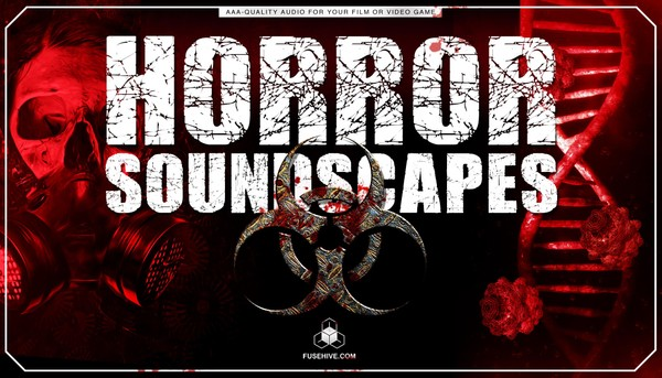HORROR SOUNDSCAPES - Scary Terrifying Background Environments Royalty Free AAA Sound Effects Library