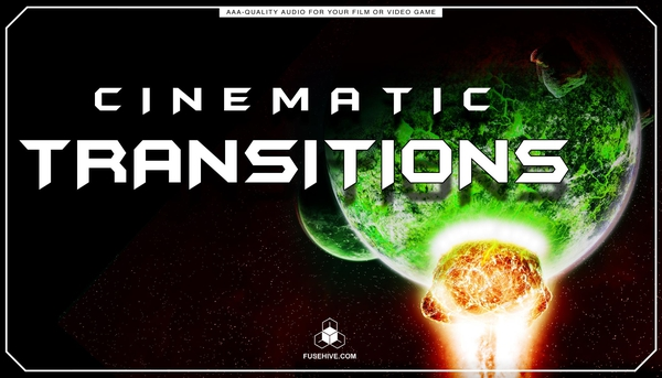 Cinematic Transitions Sound Effects Library - Trailers Promotional Teaser Videos Sounds MINI PACK