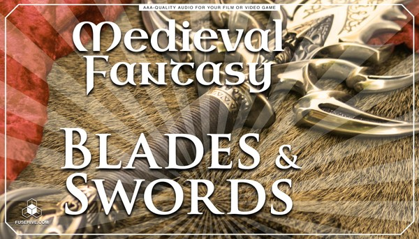 Swords Knives Daggers RPG Game Sound Effects Library - MEDIEVAL FANTASY WEAPONS SOUND PACK
