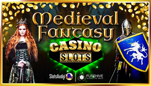 Medieval Fantasy Adventure Casino Slot Game Music & Sound Effects Library - Slots Audio Pack