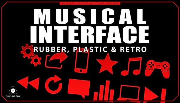 Rubber, Plastics & Retro User Interface Sound Effects Library - Musical UI SFX MINI PACK