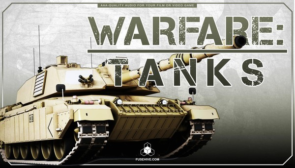 MILITARY TANKS of WARFARE SOUND EFFECTS LIBRARY – War Tank Army Land Vehicles Artillery MINI PACK